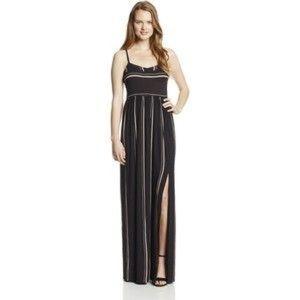 Volcom cami striped maxi dress